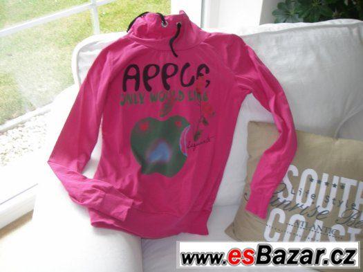 Dívčí triko, mikina vel. 164 zn. Sappy Rock