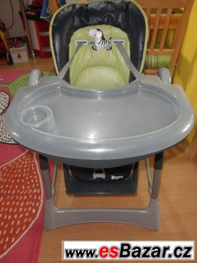 Jídelní židlička Zopa