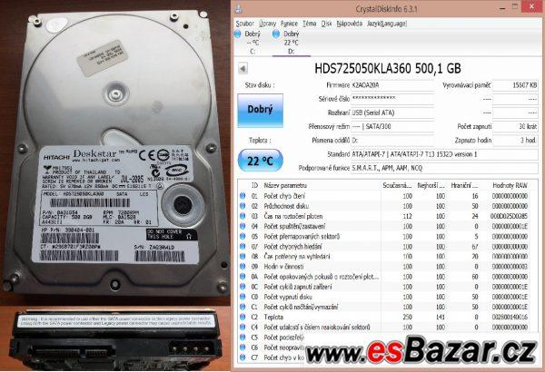 Hitachi Deskstar E7K500 3,5