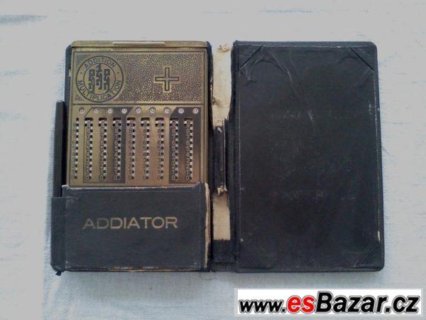 Historická počítačka Addiator