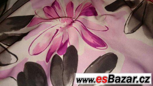 Růžovošedivé plavky Trico line