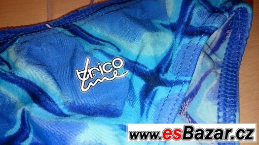Modré plavky Trico line