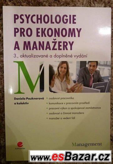 Psychologie pro ekonomy a manažery - Daniela Paukner