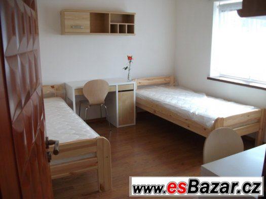 Volné pokoje v nových apartmánechh pro studenty Brno
