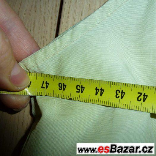 Šaty/top zelenkavé na ramínka