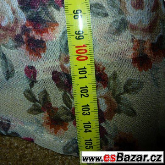 Šaty dlouhé květované