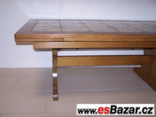 Rozkládací konferenční stůl, nastavitelná výška