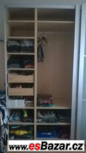Ikea šatní skříň