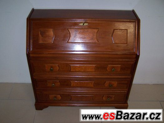 Krásná rustikální komoda a psací stůl v jednom