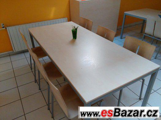 Jídelní stoly 90 x 200cm