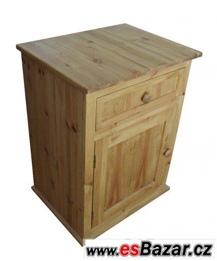 Dřevená skříňka, koupelnová skříňka