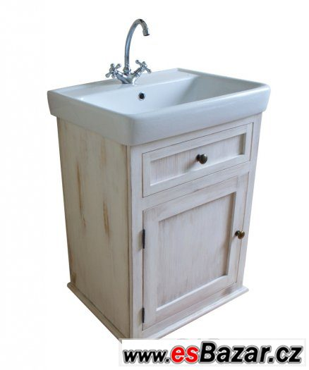 Koupelnový set, koupelnové skříňky