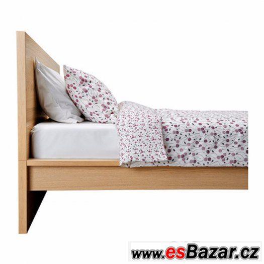 Postel MALM (Ikea) 180x200 + noční stolek