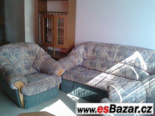 obývací stěna + sedací souprava