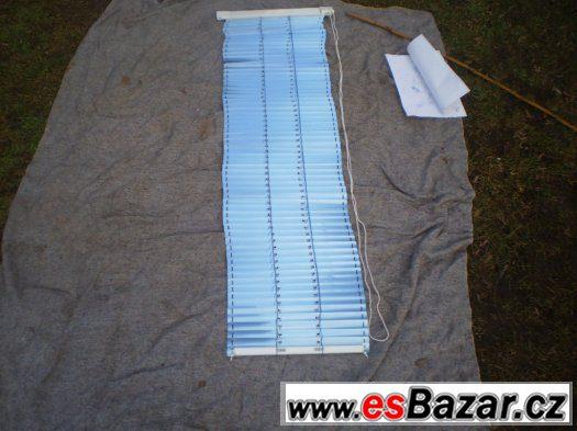 AL okenní žaluzie na plastová okna modrá