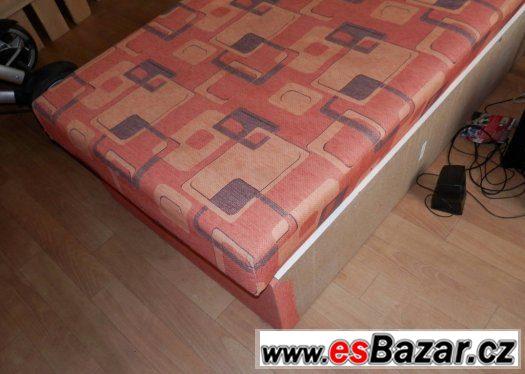Prodám postel s úložným prostorem