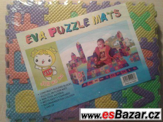 pěnové mini puzzle pro děti