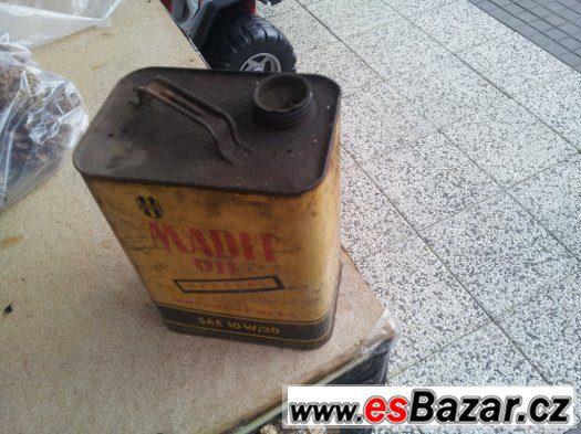 MADIT OIL plechovka