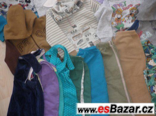 Balík 22ks oblečení na donošení za symbolickou cenu