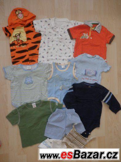 Letní setík 11 kusů pro chlapečka - cca 6 - 12 měsíců