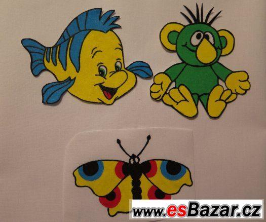 Kreslené nažehlovačky