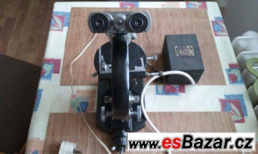 Binokulární mikroskop