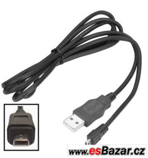 USB kabel pro Olympus, Panasonic, Nikon, Fujifilm a další