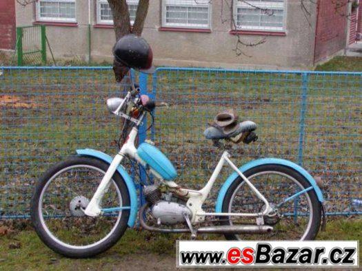 Koupím starou motorku i bez dokladu Jawa, čz, Stadion, Jawet