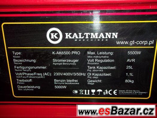 AGREGAT 5,5kW KALTMANN K-AK6500