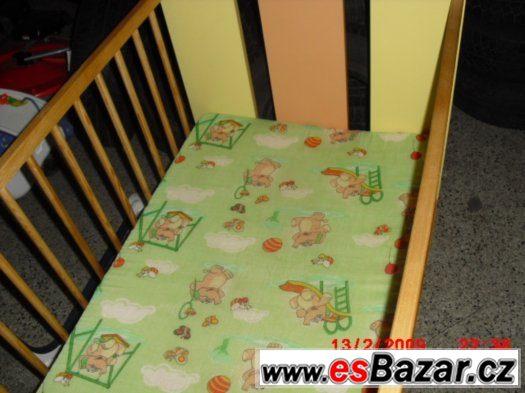Detska Postylka s matraci