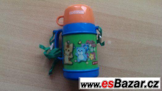 Dětská termolahev s hrnečkem