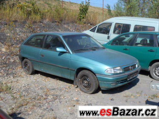 Prodám levně náhradní díly na Opel Astra F 1.6 16v