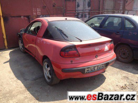 Prodám náhradní díly na Opel Tigra. 1.6 16v