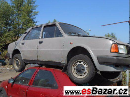 Prodám levně náhradní díly na Škoda 120M