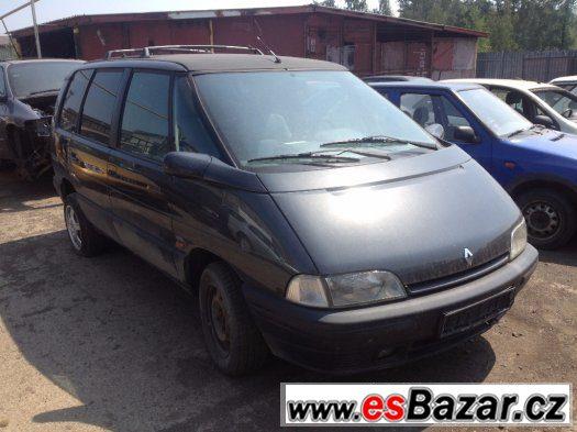 Prodám levně náhradní díly na Renault Espace II 79kw