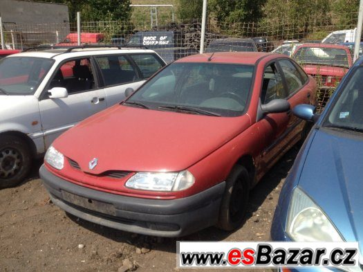 Prodám levně náhradní díly na Renault Laguna1.8 RT 68kw