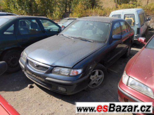 Prodám levně náhradní díly na Mazda 626 2.0 16v FS