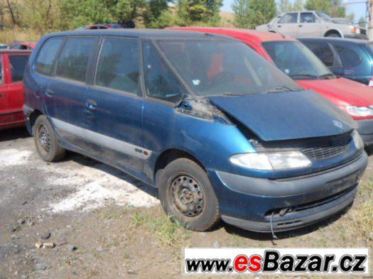 Prodám levně náhradní díly na Renault Espace 2.2Dci