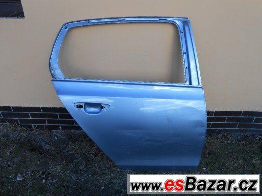 Prodám pravé zadní dveře na VW Golf 5