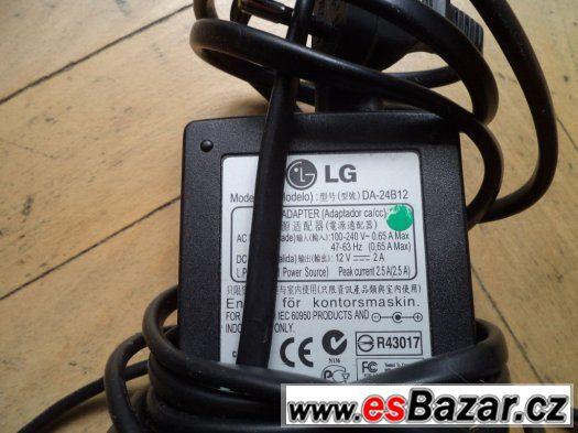 Prodám AC adaptér (zdroj) k notebooku LG
