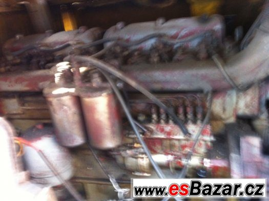 Motor Zetor 6x válců
