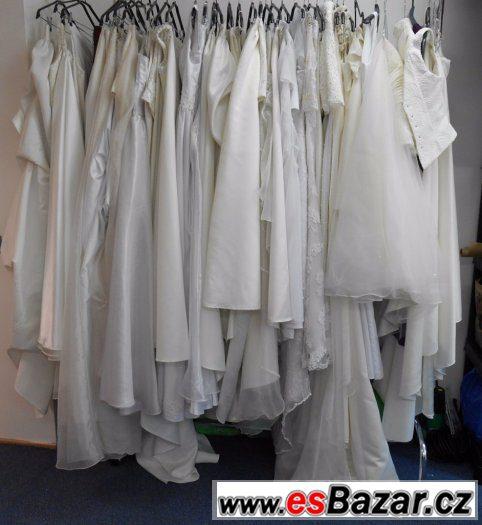 36 svatebních šatů plus doplňky a závoj 888db73b2c