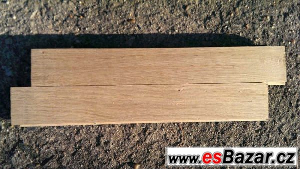 Nové dubové parkety - 2,5m