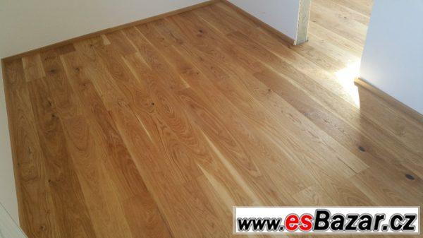 Prodám dřevěnou podlahu dub prkno