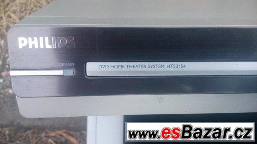 domácí kino philips hts 3154 usb mp3 divx dvd subwoofer
