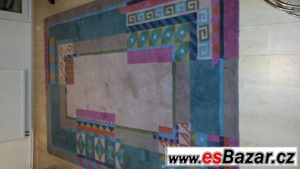 Vlněný koberec 3x2m