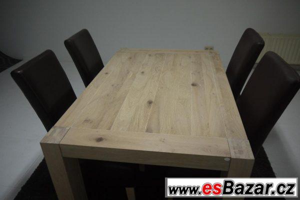 Jídelní stůl Caroni - masiv
