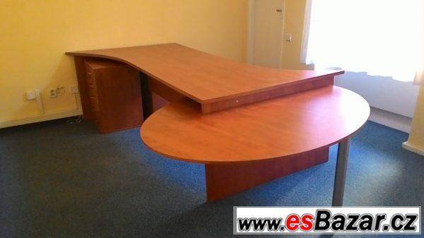 kancelářský stůl-dvojstůl,komplet