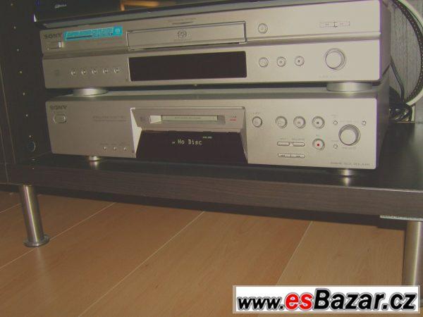 CD a MD přehrávač Sony