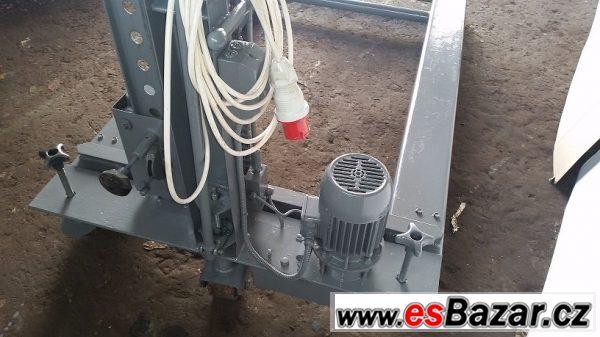 Elektrohydraulický zvedák,hever 150